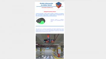 Informator br.20 - Tema: Inteligentna parking rešenja